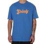 Camiseta Grizzly Disco Strip Azul