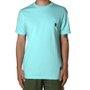 Camiseta Grizzly Og Bear Pocket Verde Água