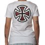 Camiseta Independent Bar Cross Logo 3 Feminina Branco