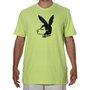 Camiseta Lost Playboy  Verde Limão