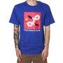 Camiseta Lrg Barmello Azul/Vermelho
