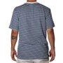 Camiseta Lrg Box Out Azul/Branco