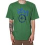 Camiseta Lrg Cycle Logo Verde/Azul