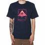 Camiseta Lrg Illusion Azul Marinho