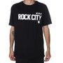 Camiseta Rock City Army 3 Estrelas Nac. Preto