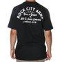 Camiseta Rock City Army Born N Raised Preto/Branco