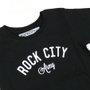 Camiseta Rock City Army Infanto - Juvenil Preto