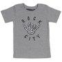 Camiseta Rock City Hang Loose Infantil Mescla