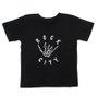 Camiseta Rock City Hang Loose Infantil Preto