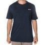 Camiseta Rock City Inc. Bolso Basic Azul Marinho