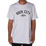 Camiseta Rock City Lettring Branco