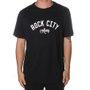Camiseta Rock City Lettring Preto