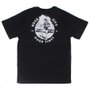 Camiseta Rock City Nanda Bond Infantil Preto