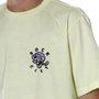 Camiseta Rock City x Nanda Bond Skull Amarelo