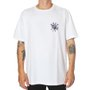 Camiseta Rock City x Nanda Bond Skull Branco