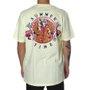 Camiseta Rock City x Nanda Bond Summer Times Amarelo