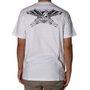 Camiseta Rock City x Pox Tattoo Águia Branco