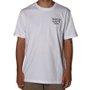 Camiseta Rock City x Pox Tattoo Tigre Branco