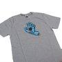 Camiseta Santa Cruz Screaming Hand Infantil Mescla Claro