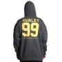 Moletom Hurley 99 Aberto Cinza Mescla
