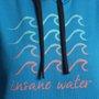 Moletom Insane Water Ondas Azul