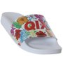 Chinelo Qix Floral Color Branco