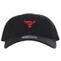 Boné Mitchell & Ness Chicago Bulls Aba Curva Red Preto