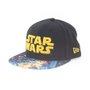 Boné New Era 5950 Viza Print Star Wars  Preto/Amarelo