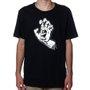 Camiseta Santa Cruz Screaming Hand 1 Color Preto