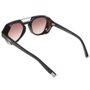 Óculos Evoke Avalanche WD01 Total Preto Fosco/Marrom