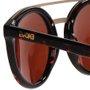 Óculos Evoke Kosmopolite DS4 G21 Tartaruga Marrom