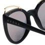 Óculos Evoke Penelope A12S Champagne Preto Fosco/Dourado