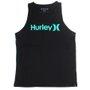Regata Hurley Silk O&O Solid Infantil Preto