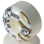 Roda Bones War Paint Spf 81b P4 Branco/Dourado