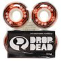 Roda Drop Dead Performace 99a Branco/Laranja