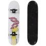 Skate Montado Cisco Pro Dunuts Branco/Rosa