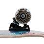 Skate Montado Solo Pro Serie Colagem II Rosa/Azul