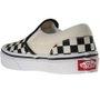 Tênis Vans Slip-On Classic Checkerboard Xadrez Creme/Preto
